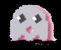 petit fantome en pixel art, un mâle plutôt quelconque pour une romance ;)