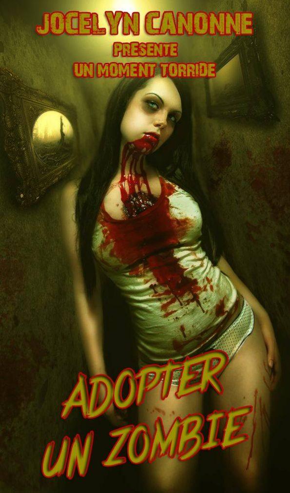 une nana zombie hyper sexy ça c'est de la dark romance pour mec!